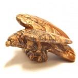 Eagle Classic 1.5 Inch Figurine - Picture Jasper