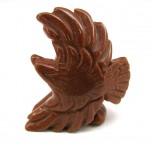 Eagle Soaring 1.5 Inch Figurine - Goldstone