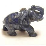 Elephant Classic 1.5 Inch Figurine - Sodalite