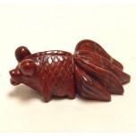 Goldfish 1.5 Inch Figurine - Rainbow Jasper