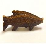 Fish Classic 1.5 Inch Figurine - Tiger Eye