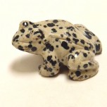 Frog Classic 1.5 Inch Figurine - Dalmatian Dacite