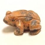Frog Classic 1.5 Inch Figurine - Picture Jasper