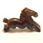 Horse Running 1.5 Inch Figurine - Tiger Eye