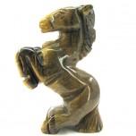 Horse Standing 1.5 Inch Figurine - Tiger Eye