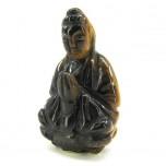 Kwin Yin 1.5 Inch Figurine - Tiger Eye