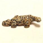 Lizard 1.5 Inch Figurine - Dalmatian Dacite