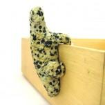 Lizard Climbing 1.5 Inch Figurine - Dalmatian Dacite