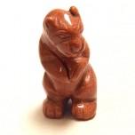 Otter Standing 1.5 Inch - Goldstone