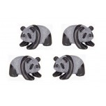 Panda Classic 1.5 Inch Figurine - Obsidian Black