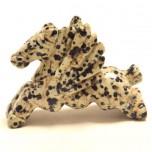 Pegasus 1.5 Inch Figurine - Dalmatian Dacite