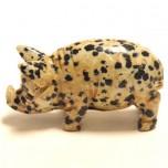 Pig Classic 1.5 Inch Figurine - Dalmatian Dacite