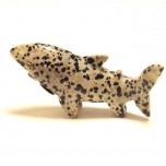 Shark 1.5 Inch Figurine - Dalmatian Dacite