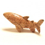 Shark 1.5 Inch Figurine - Picture Jasper