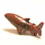 Shark 1.5 Inch Figurine - Unakite