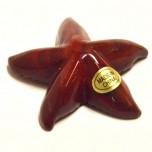 Starfish 1.5 Inch Figurine - Rainbow Jasper