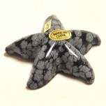 Starfish 1.5 Inch Figurine - Sodalite