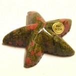 Starfish 1.5 Inch Figurine - Unakite