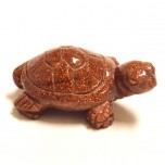 Turtle 1.5 Inch Figurine - Goldstone