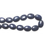 20 x 15mm Oval Lapis Bead Strand