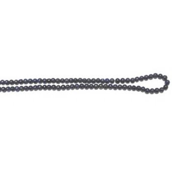 4mm Round Lapis Bead Strand