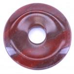 Donut 30mm Pendant - Rainbow Jasper