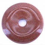 Donut 30mm Pendant - Goldstone