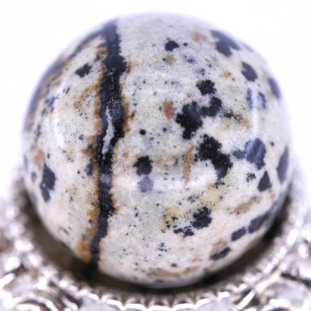 20mm Gemstone Sphere - Dalmatian Dacite