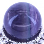 20mm Gemstone Sphere - Fluorite