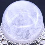 20mm Gemstone Sphere - Fused Clear Quartz