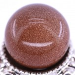 20mm Gemstone Sphere - Goldstone