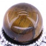 20mm Gemstone Sphere - Tiger Eye