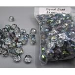 """Crystal Bead Pack - Blue Ice (3"""" x 2.5"""" Zip Bag)"""
