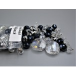 """Crystal Bead Pack - Mix Beads Style 2 (3"""" x 2.5"""" Zip Bag)"""