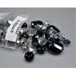 """Crystal Bead Pack - Mix Beads Style 4 (3"""" x 2.5"""" Zip Bag)"""