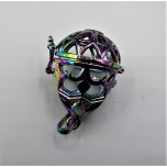 Designer Locket Cage - AB Cage with Balloon shape Style 1 (25 x 30 mm)