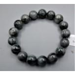 10-12 mm Gemstone Round Bead Bracelet - Eagle Eye