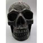 Extra Large Carving - Skull (5 x 3.5 x 4.5H inches) - Volcanic Rock