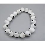 Eye Bracelet - White