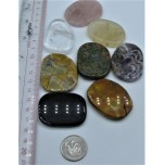 Flat Stone - Irregular Shape - Show Special Size - 5 pcs Pack Assorted
