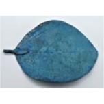 Leaf Pendant - Blue Green