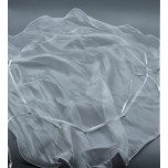 Gift Bag - White Organza - 28 cm DIA ( 11 Inches) - 10 Pieces Pack