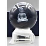 60 mm Crystal Sphere w Buddha