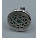 Cage Car Diffusers (30mm) with Star of David  - Stainless Steel/Base Medal - Assorted color