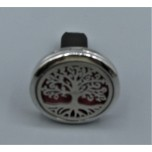 Cage Car Diffusers (30mm) with Tree of Life  - Stainless Steel/Base Medal - Assorted color