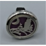 Cage Car Diffusers (30mm) with Owl  - Stainless Steel/Base Medal - Assorted color