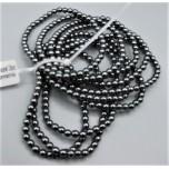 4 mm Hematite Bracelet - 10 pcs Pack