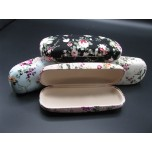 Fabric Covered Eyeglass Case assorted colors