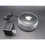 LED Turntable (Medium) Display with AC Adapter - Multicolor