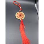 Coin Circle Chinese Pendant